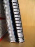 Carpetas de anillo fotografía de archivo