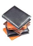Carpetas de cuero Fotografía de archivo libre de regalías