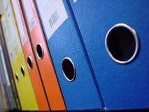 Carpetas de fichero Fotos de archivo