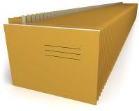 Carpetas de fichero fotos de archivo libres de regalías
