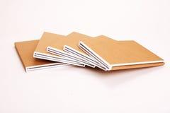 Carpetas de fichero rellenas con papeleo Fotografía de archivo libre de regalías