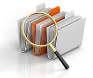Carpetas de la búsqueda Imágenes de archivo libres de regalías