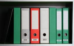 Carpetas de la oficina Imagenes de archivo