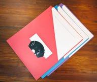 Carpetas de la presentación Imágenes de archivo libres de regalías