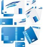 Carpetas del estilo del vector Fotos de archivo