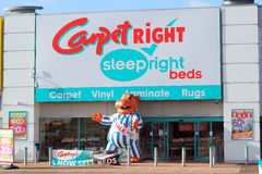 Carpetright store front. Royalty Free Stock Photos