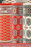 carpets красный цвет Стоковое Изображение RF