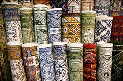carpets ehtnic textur Royaltyfri Bild