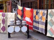 carpets försäljning Arkivbild