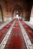 Carpets In Corridor, Jama Masjid Royalty Free Stock Photo