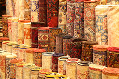 Carpets in Istanbul Stock Image