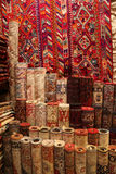 Carpets in Istanbul Royalty Free Stock Photography