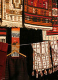 carpets libya souk royaltyfri bild