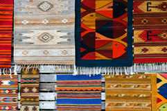 Carpets at the Market Royalty Free Stock Photo