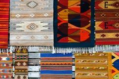 Carpets at the Market royalty free stock photo