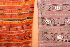 Carpets from Marrakesh Royalty Free Stock Photography