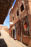 Carpets on sale in Ouarzazate medina Stock Photography