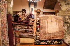 Carpets shop, Istanbul Royalty Free Stock Photos