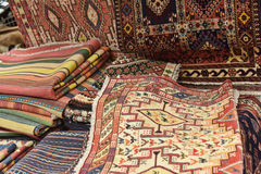 Carpets in the store Stock Photo