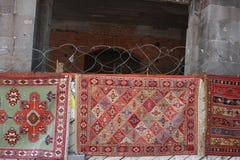 Carpets in Tbilisi Georgia stock image