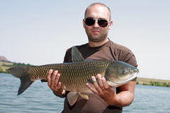 Carpfishing Obraz Royalty Free