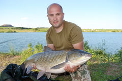 Carpfishing Stock Photography
