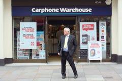 Carphone Warehouse Arkivbilder