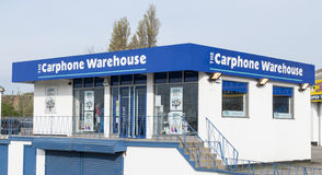 Carphone Warehouse building/Shop. Open to the public Royalty Free Stock Images
