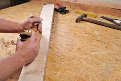 Carpintaria Fotografia de Stock Royalty Free