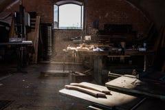 carpintaria entortada fotografia de stock