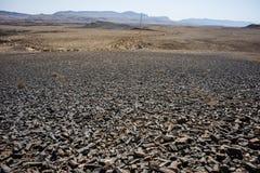 A carpintaria na cratera de Ramon Imagens de Stock
