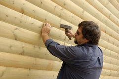 Carpinteiro Foto de Stock
