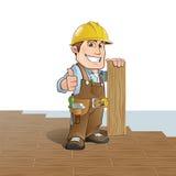 Carpinteiro ilustração royalty free
