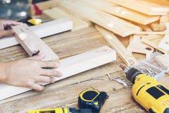carpinteiro Fotografia de Stock Royalty Free