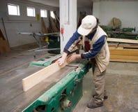 Carpinteiro no trabalho. imagens de stock royalty free