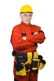 Carpinteiro seguro Fotografia de Stock