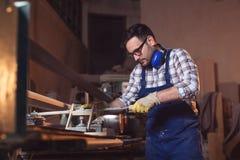 Carpinteiros no trabalho imagens de stock royalty free