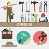 carpintero Imagen de archivo libre de regalías