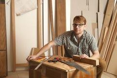 carpintero Foto de archivo