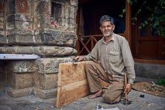 Carpintero indio fotografía de archivo