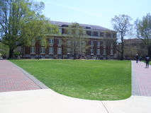 Carpintero Pasillo en la universidad de estado de Mississippi foto de archivo libre de regalías