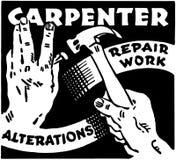 Carpintero Repair Work Imagenes de archivo