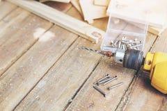 Carpintero Tool Foto de archivo libre de regalías