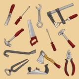 Carpintero Tools Imagen de archivo