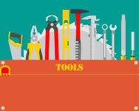 Carpintero Tools Fotografía de archivo libre de regalías