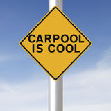 Carpooling Photographie stock