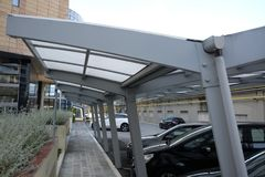 Carport Royalty Free Stock Images