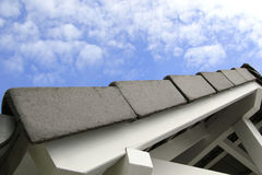 Carport roof detail Stock Photo