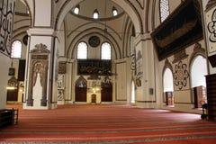 Vieille mosquée intérieure Photographie stock libre de droits