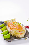 Carps in aspic Stock Images